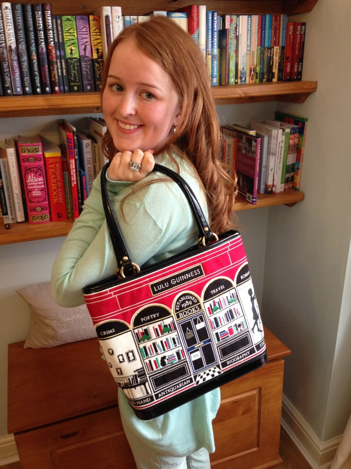 What's In My Handbag Lulu Guinness BookshopTote