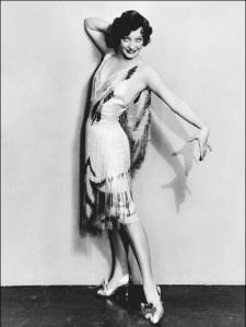 Image of a 1920s Geometric Flapper Dress