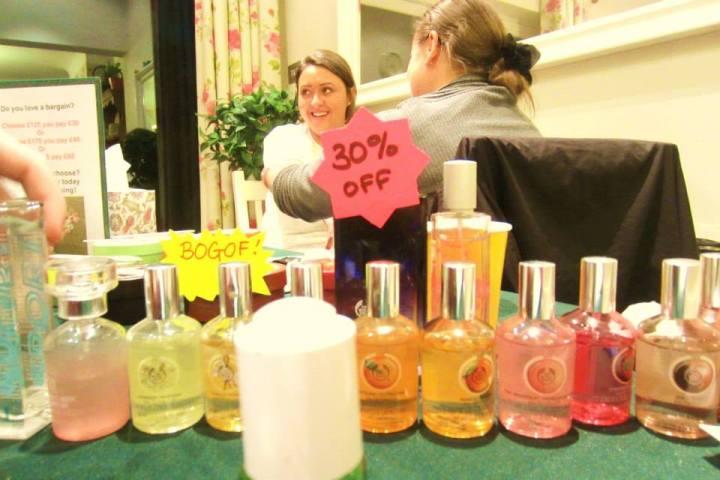 Fashioneyesta's Body Shop at Home PartyExperience