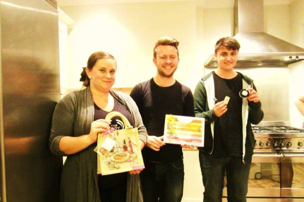 Three of our lovely raffle winners
