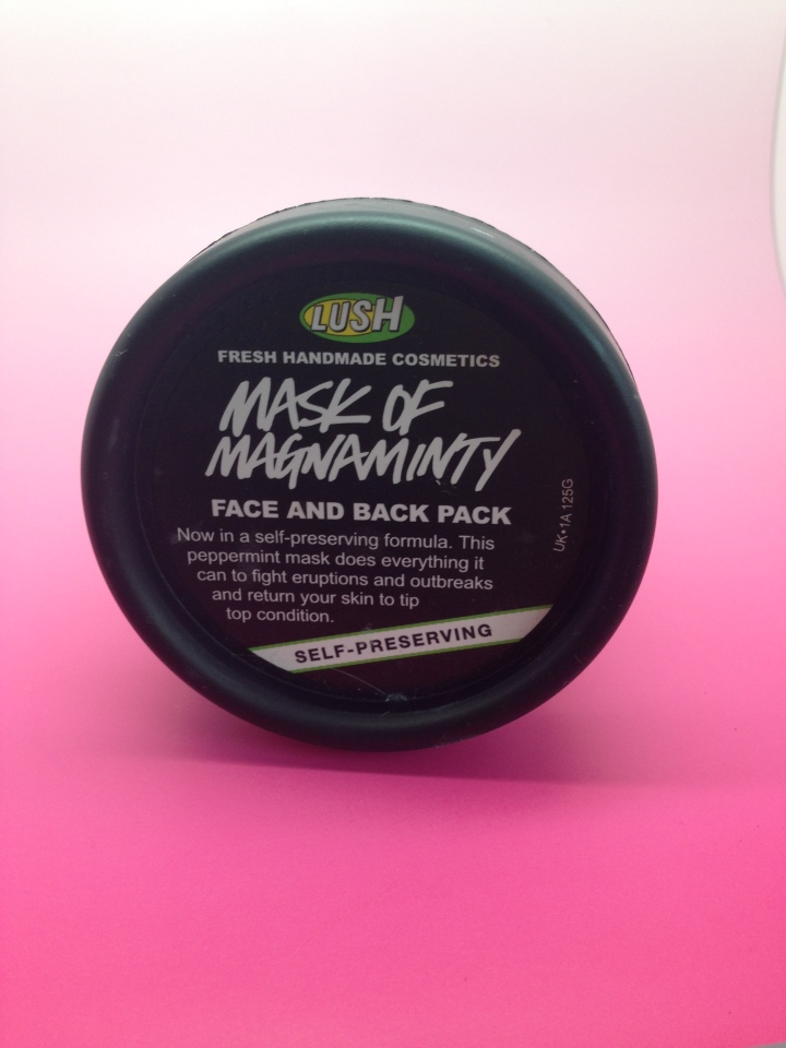 Lush Mask Of Magnaminty Self-Preserving Face Mask:Review
