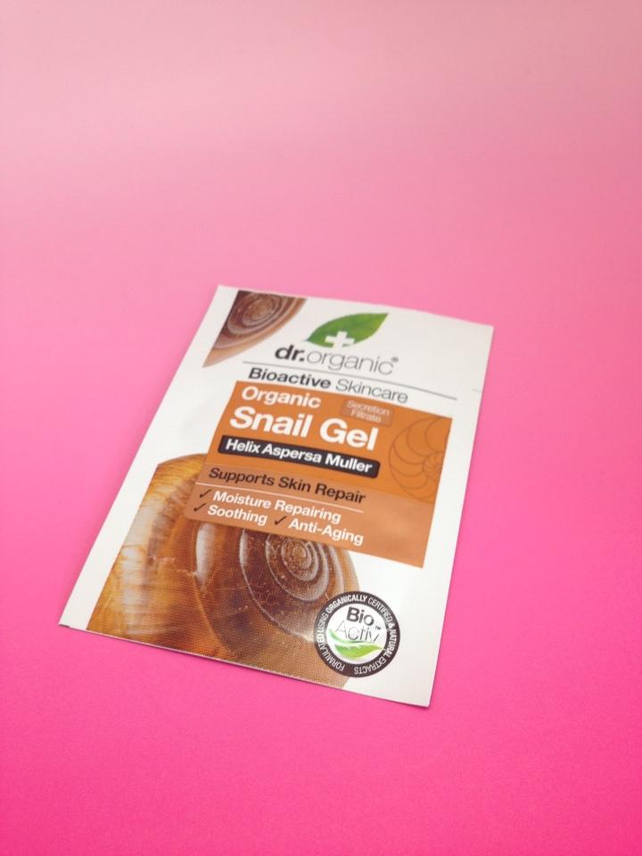 Dr Organics Bioactive Skincare Snail GelReview