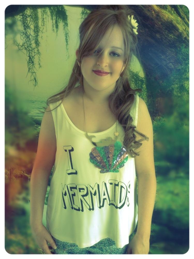 Image of my Mermaid Inspired top