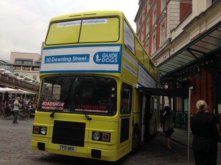 Have You Seen The Guide Dogs Yellow Bus?