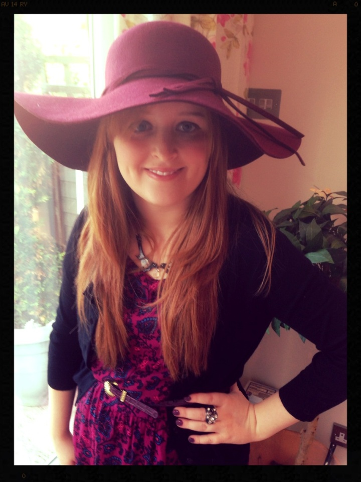 Outfit of the Day: A Flare ofPurple