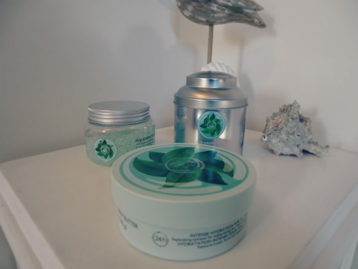 The Body Shop Fuji Green Tea Range: Review