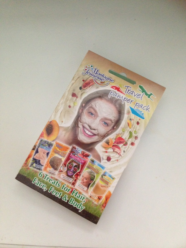 Montagne Jeunesse Travel Pamper Pack:Review