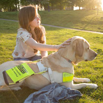 emily-and-her-guide-dog-unity