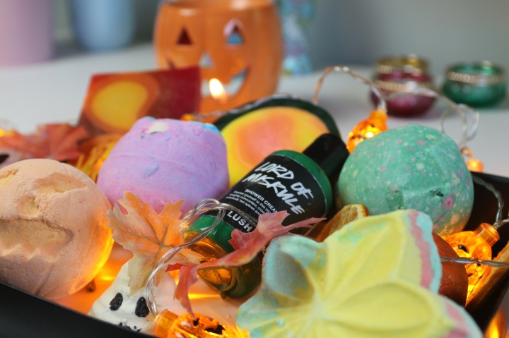 Lush Halloween and Autumn Products 2016