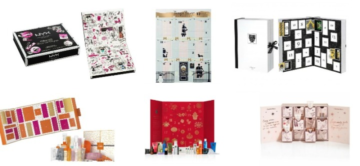 Fashioneyesta's Top 10 Beauty Advent Calendar 2016 Picks