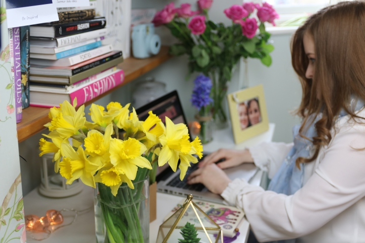 Creating an Inspiring Workspace For Spring