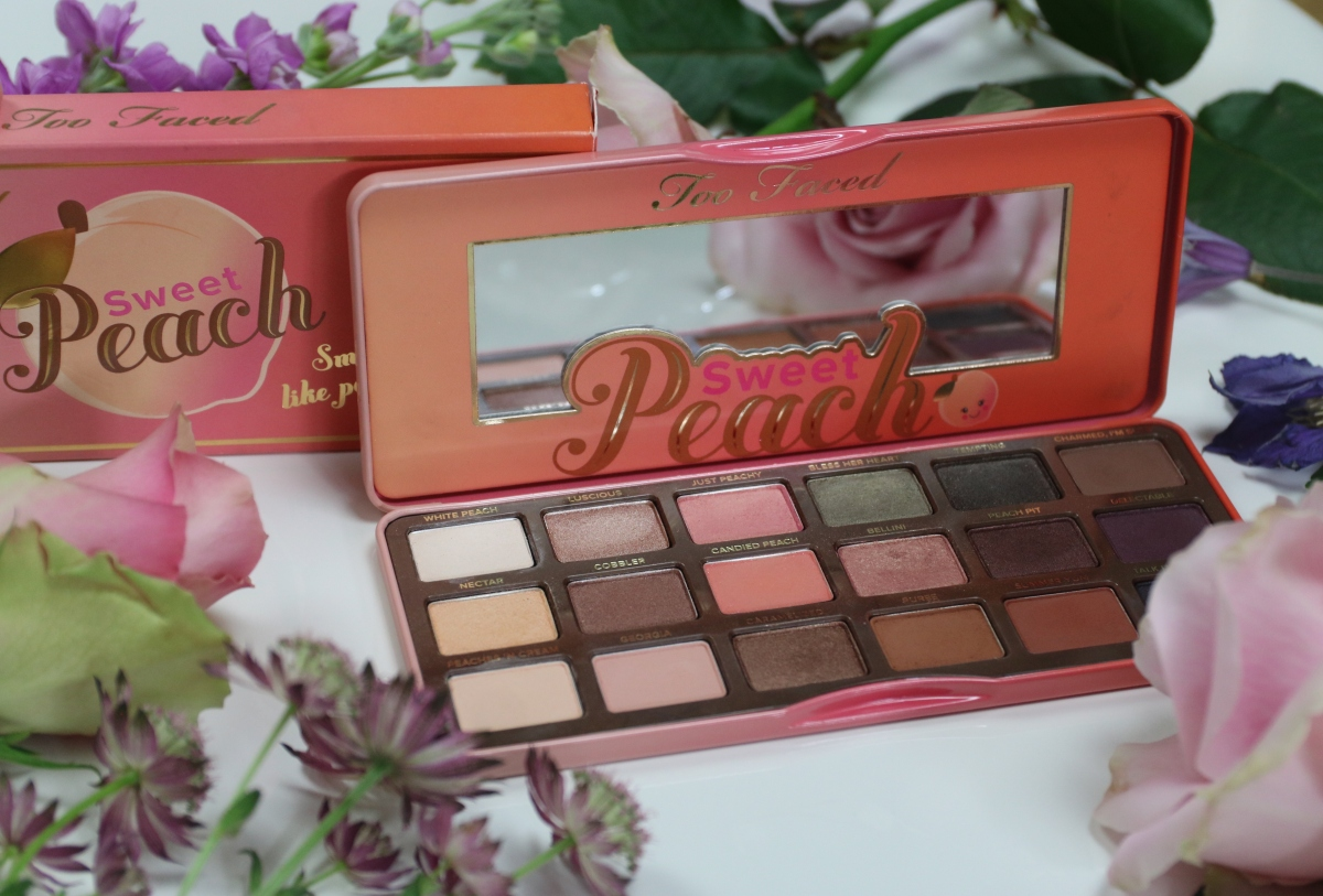 Too Faced Sweet Peach Palette: Review