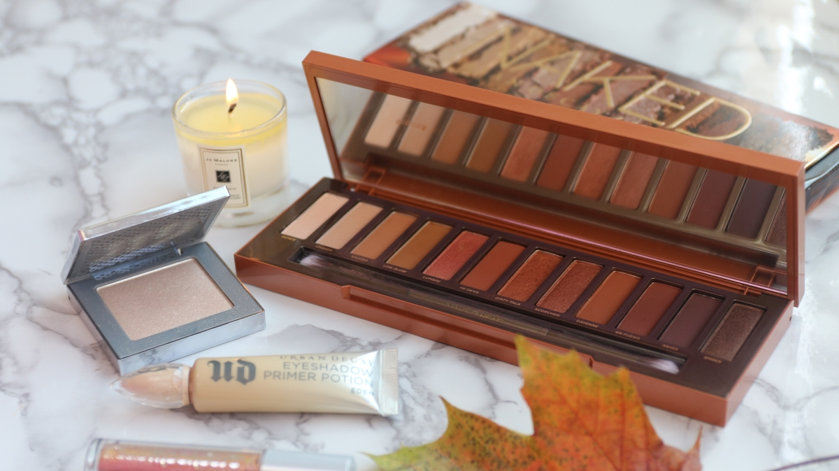 Urban Decay Naked Heat Palette Review and Swatches *