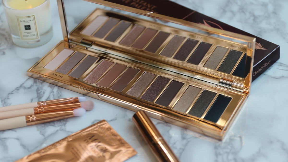 Charlotte Tilbury Instant Eye Palette: Review and Swatches