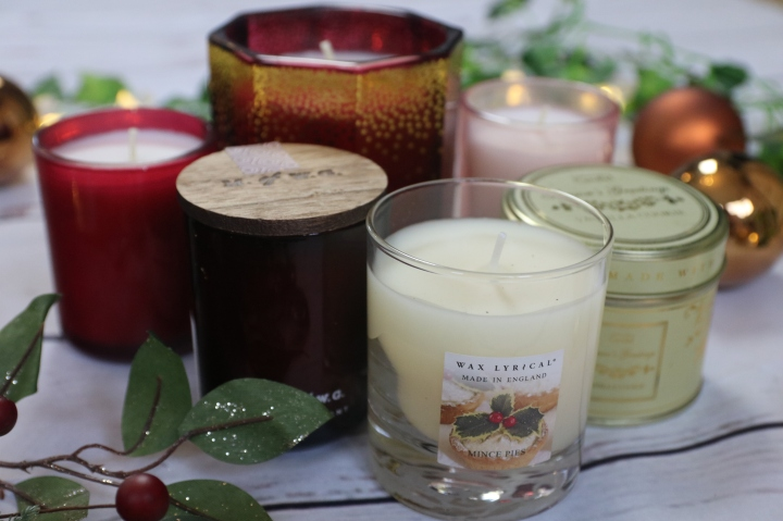Christmas Scented Candle Haul