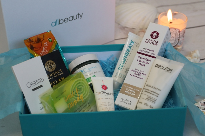 Unboxing the Allbeauty Detox and Calm 2018 Beauty Box*