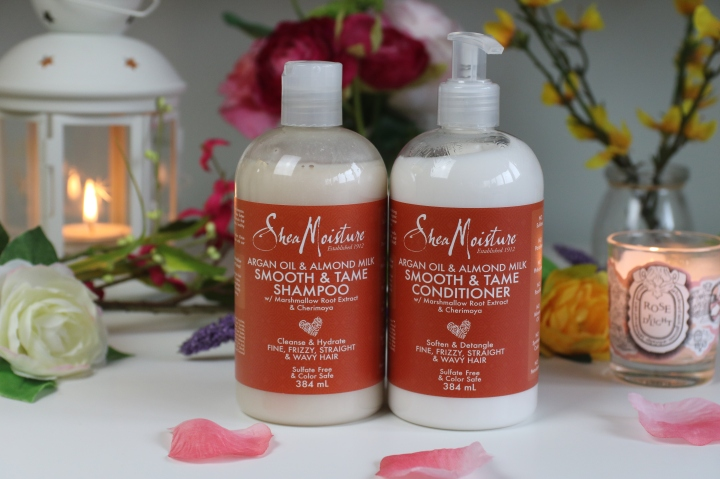 Shea Moisture Smooth & Tame: Review *