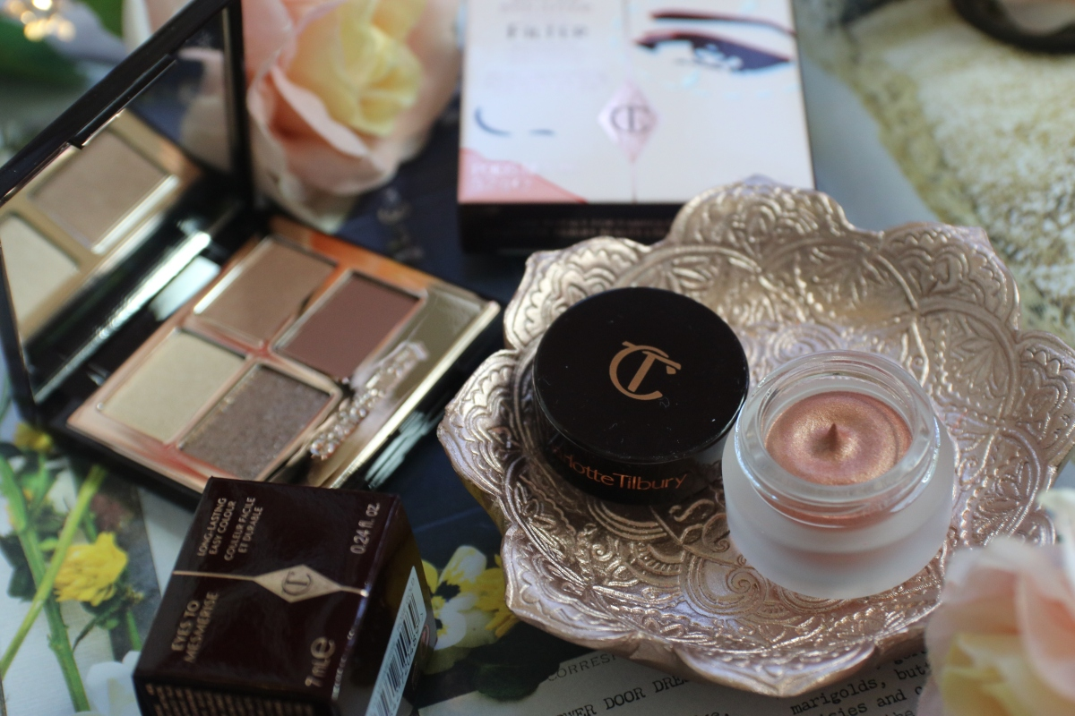 Rose Gold Eyes with Charlotte Tilbury