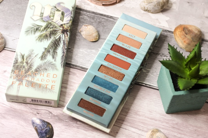 Urban Decay Beached Eyeshadow Palette Review