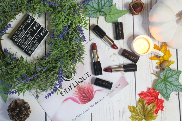Odylique Mineral Lipsticks: Review *