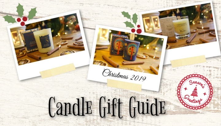 Christmas Gift Guide 2019: The Candle Edition*
